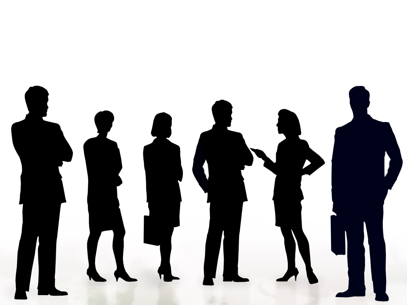 Business People Clipart Silhouette.