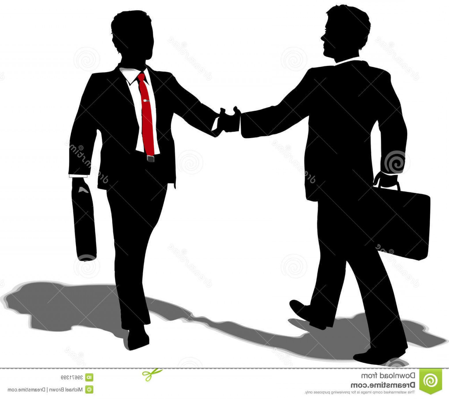 Best Business People Handshake Clipart Picture.