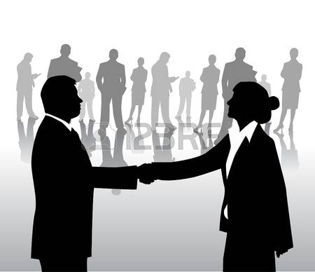4,446 Business People Shaking Hands Stock Illustrations, Cliparts.