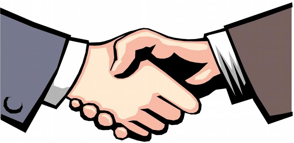 Business people handshake clipart.