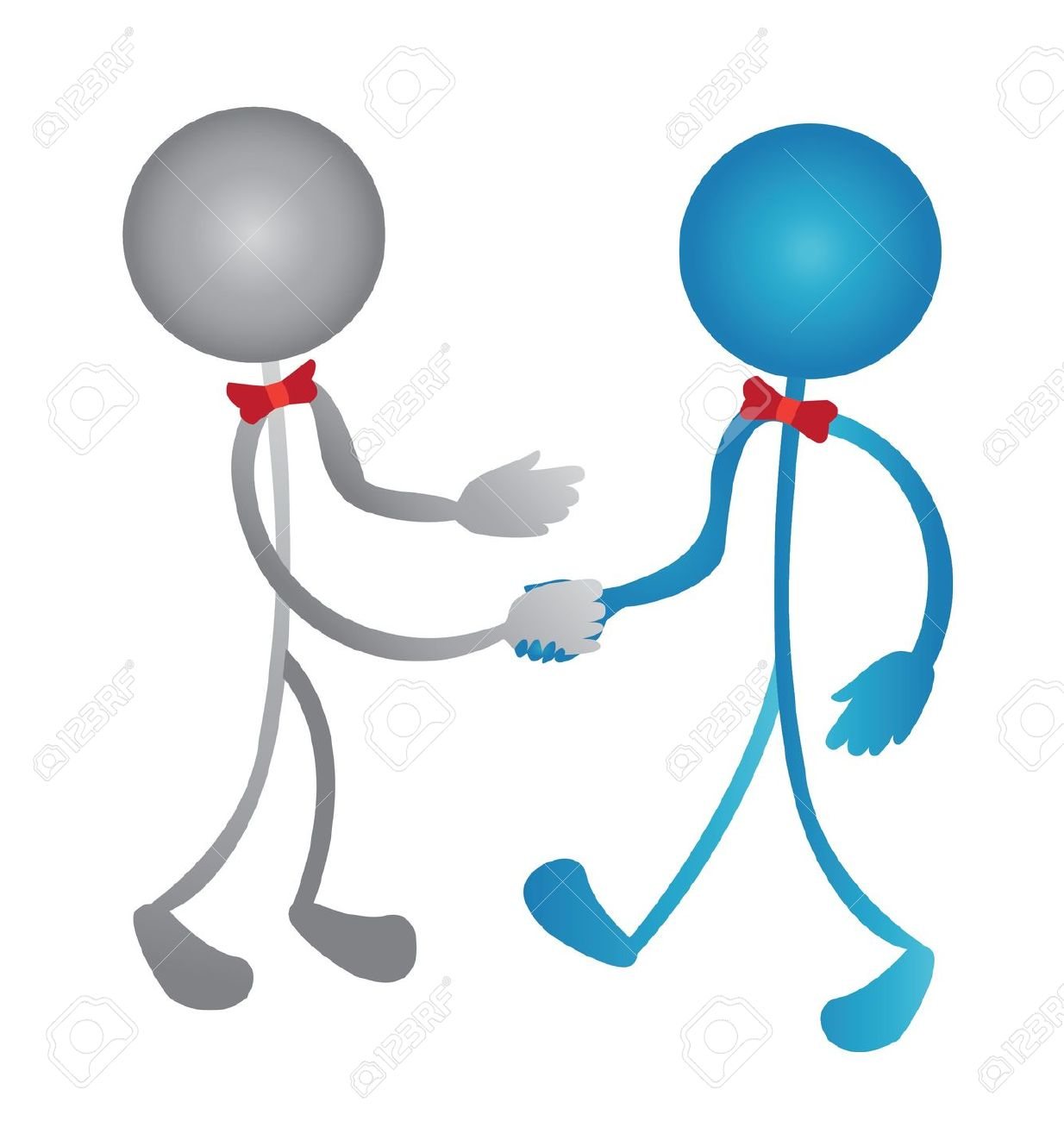 People Hand Shake Clipart.