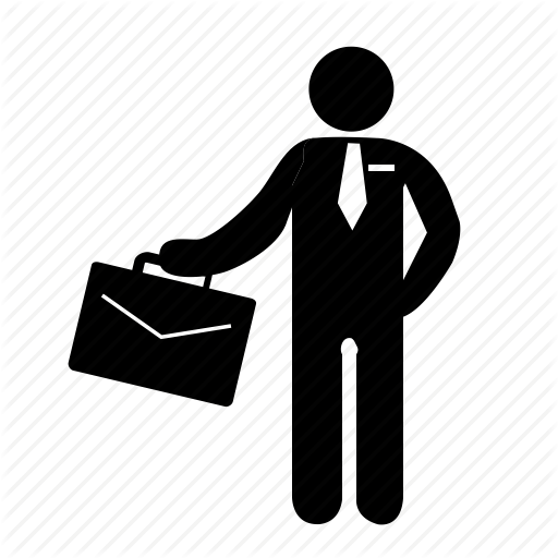 Business Person Icon Png #204652.