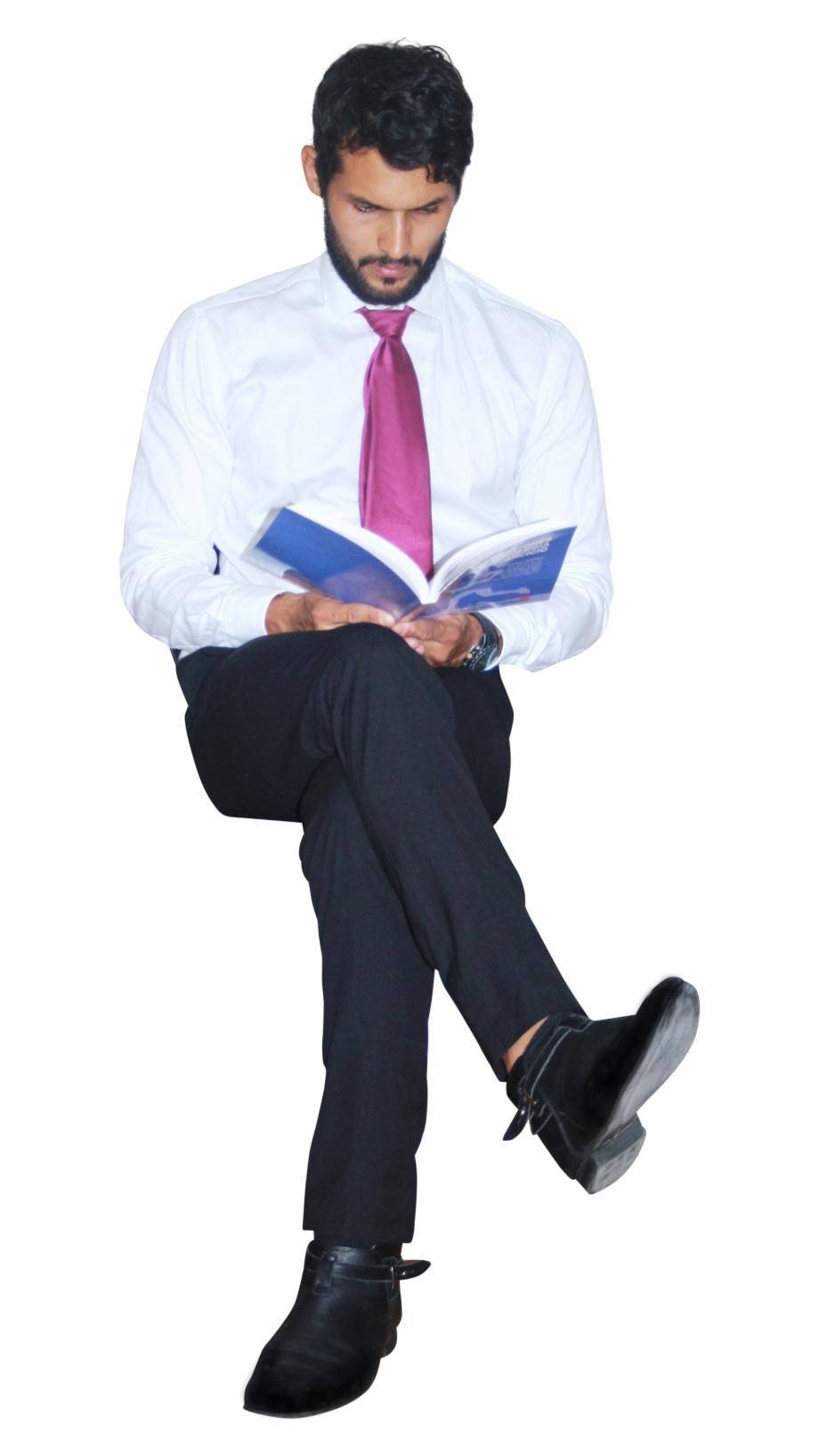 Business People Sitting Png, Transparent Png Download For Free.