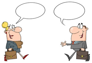 Free Clip art of People Talking Clipart #2201 Best Business People.