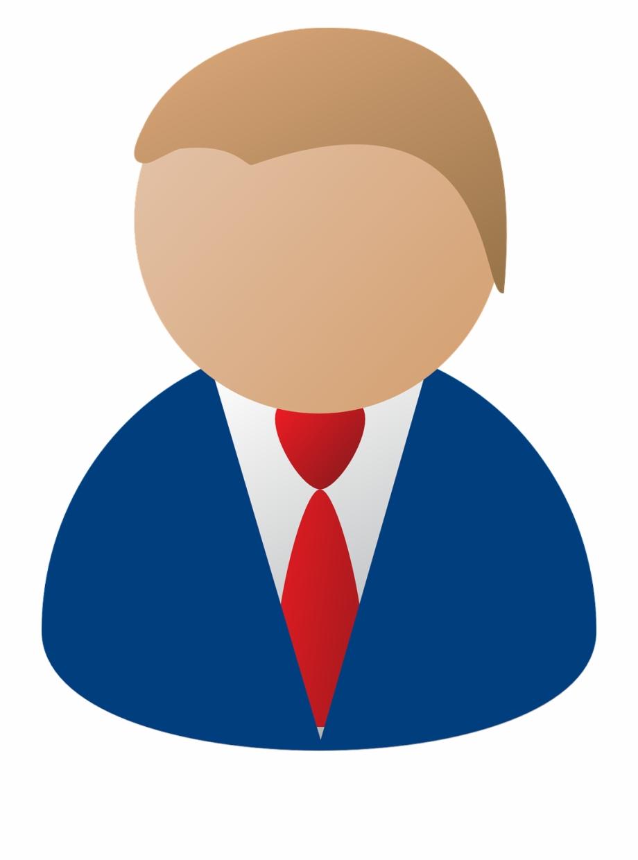 Business Person Blue Businessman Png Image.
