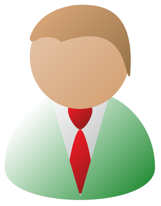 Free Clipart: Business Person.
