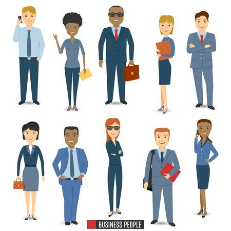 1,729,755 People Business Cliparts, Stock Vector And Royalty Free.