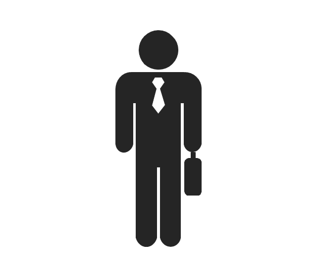 Business people pictograms.