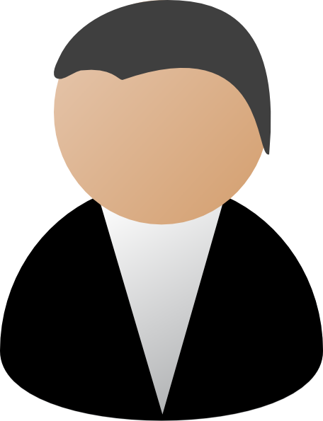 Business Person Black Clip Art at Clker.com.