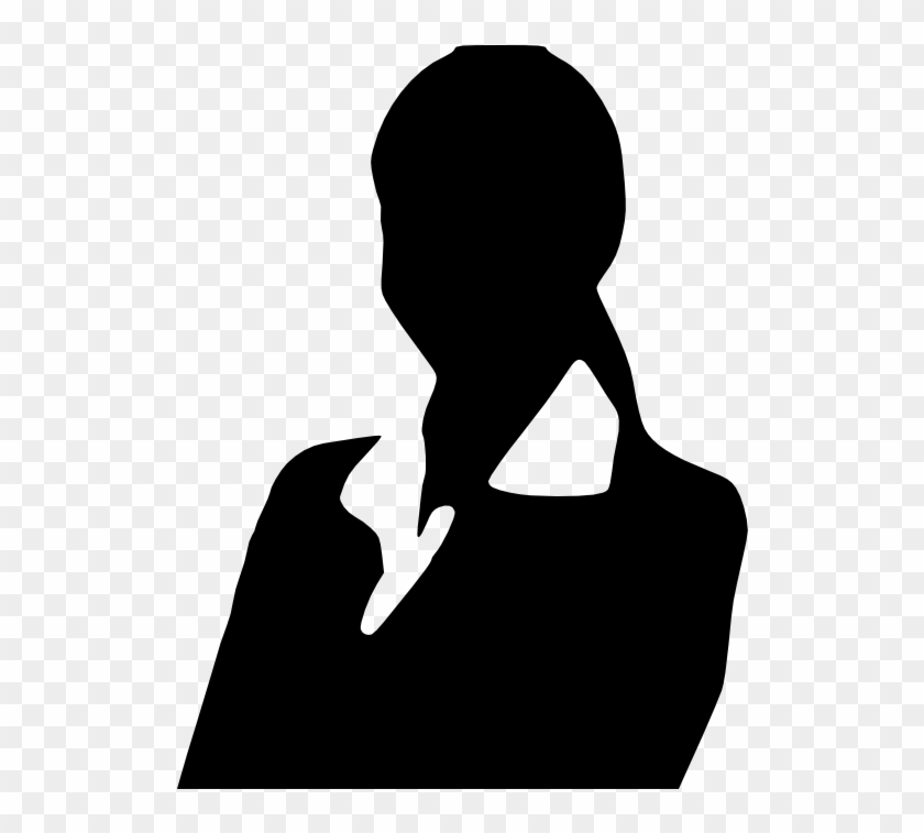 Professional Woman Business Woman Silhouette Clipart.