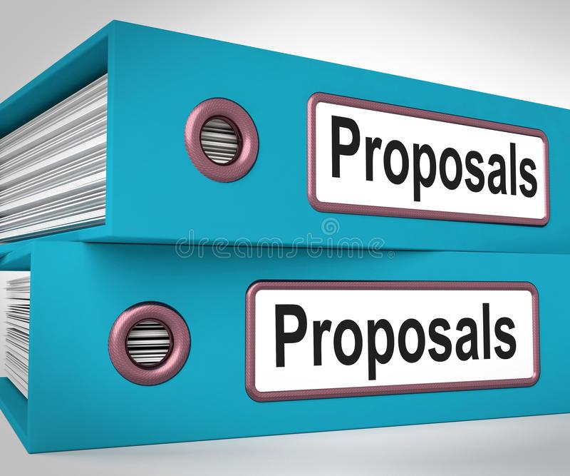 Proposals Stock Illustrations.