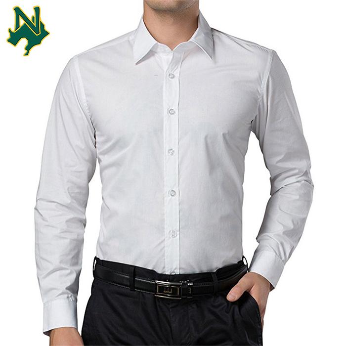 Wholesale Mens Slim Fit Dress Shirts No Logo Dress Shirts Men Business  V.