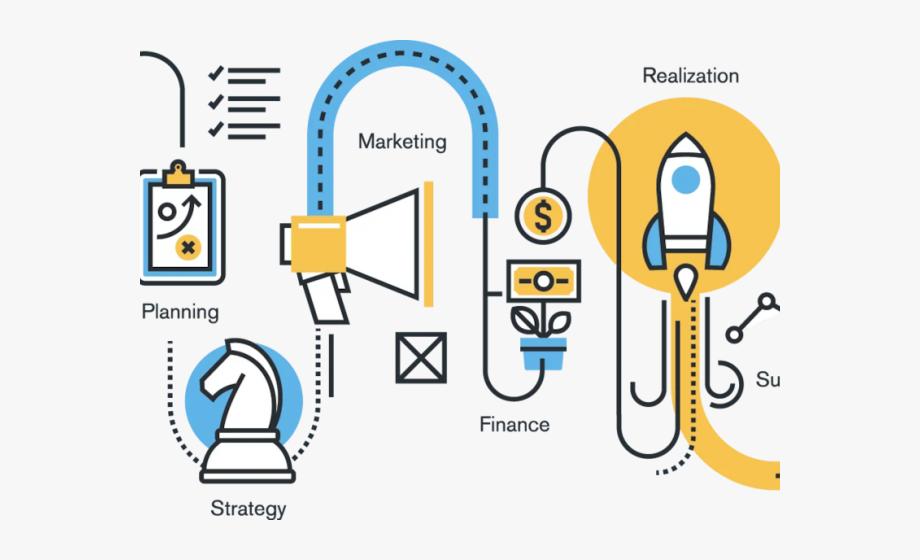 Business Clipart Strategic Management.
