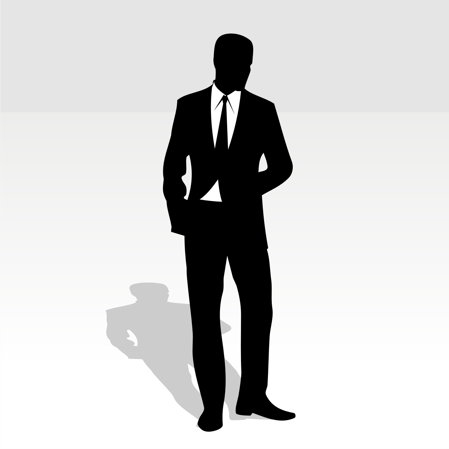 Woman In Business Suit Clipart.