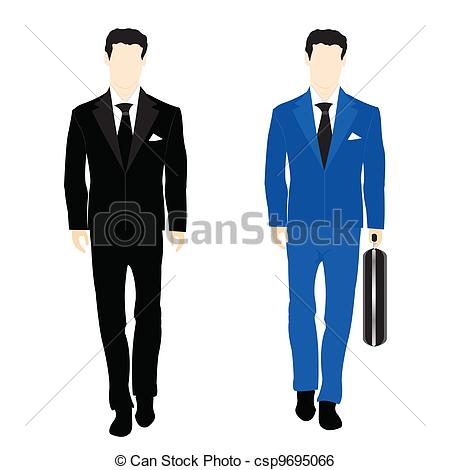 Business suit clipart.