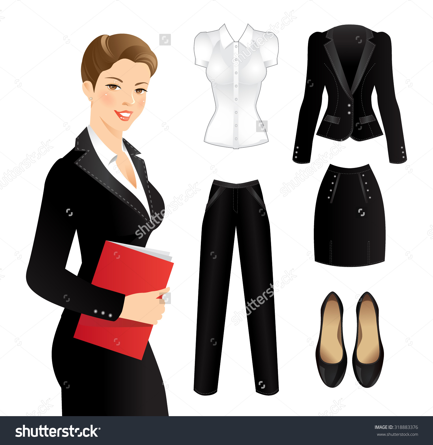 Similiar Business Clothes Clip Art Keywords.