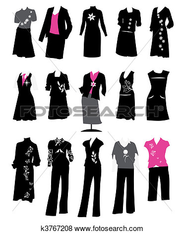 Business Suit Woman Office Online Clipart.