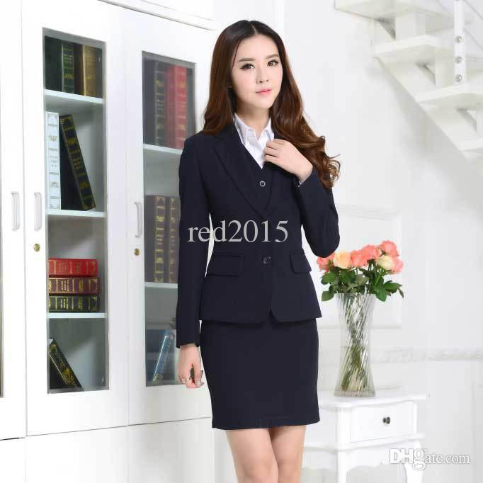 Women Business Suits Formal Office Suits Work Wear 2015 New Ladies.