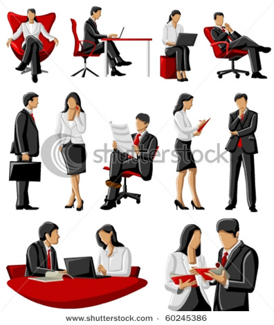 Business Office Clipart.