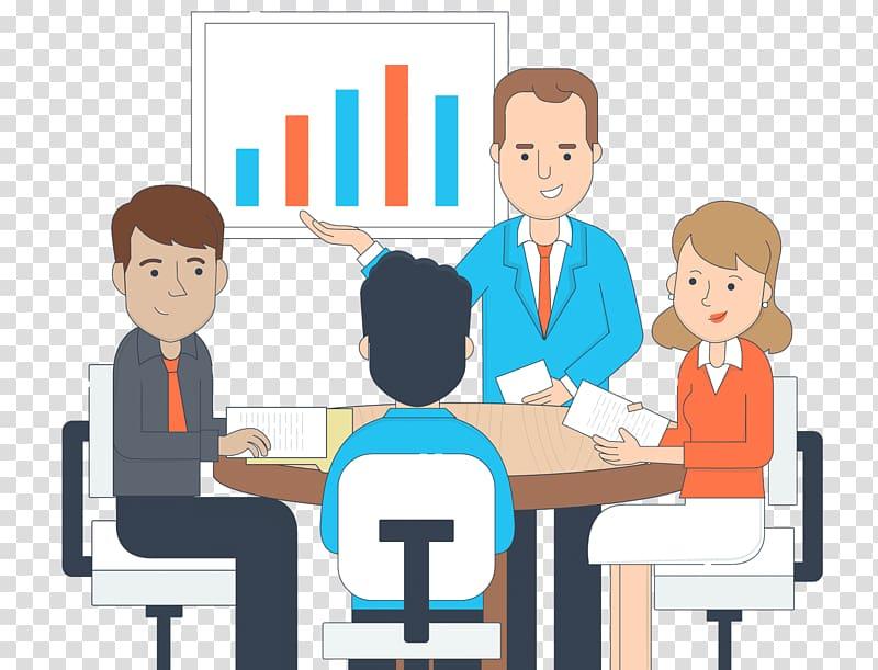 People illustration, Training Business Management Education.