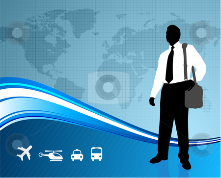 Business Travel Clipart.