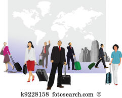 Business travel Clip Art Royalty Free. 82,918 business travel.