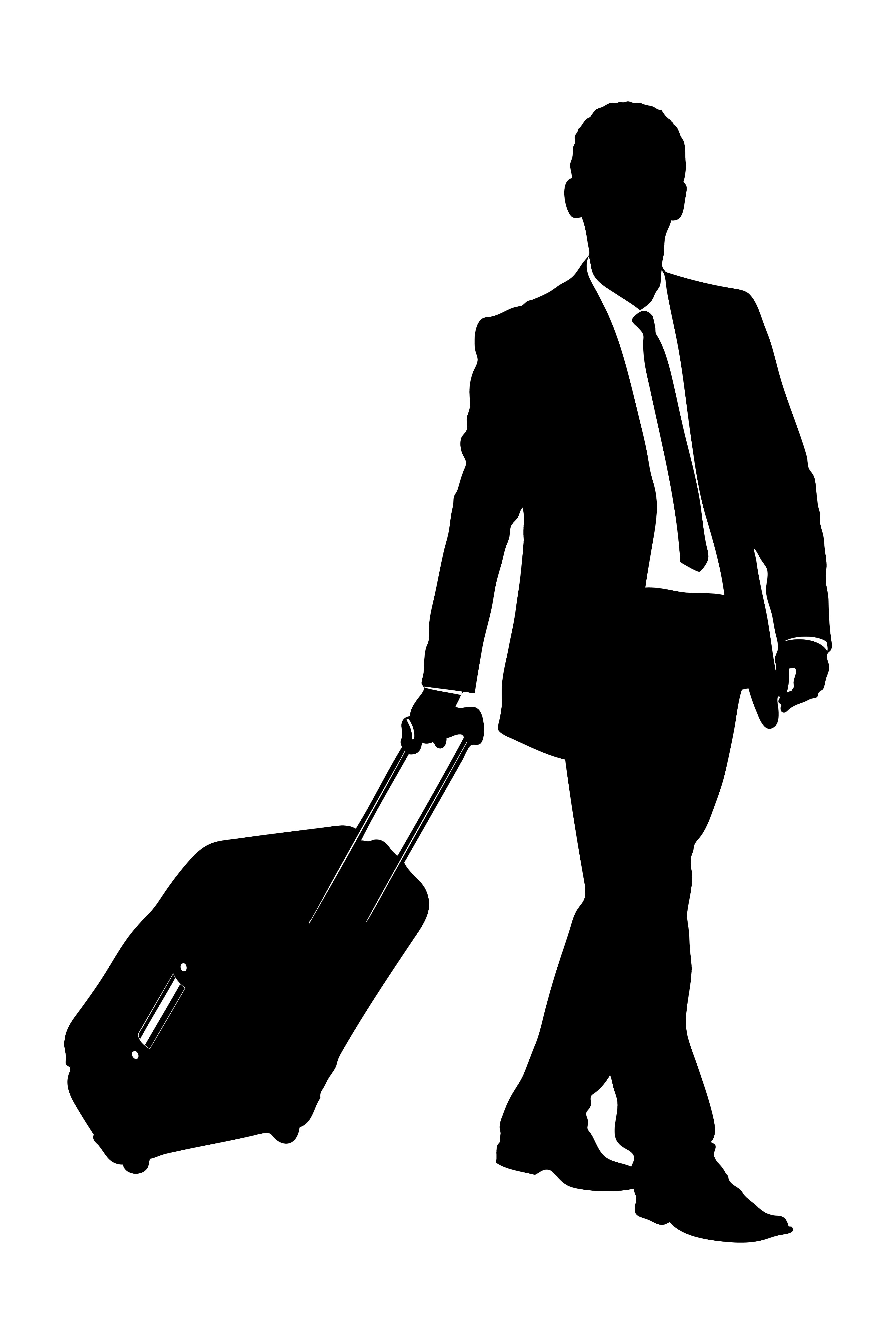 Travel clipart silhouette.