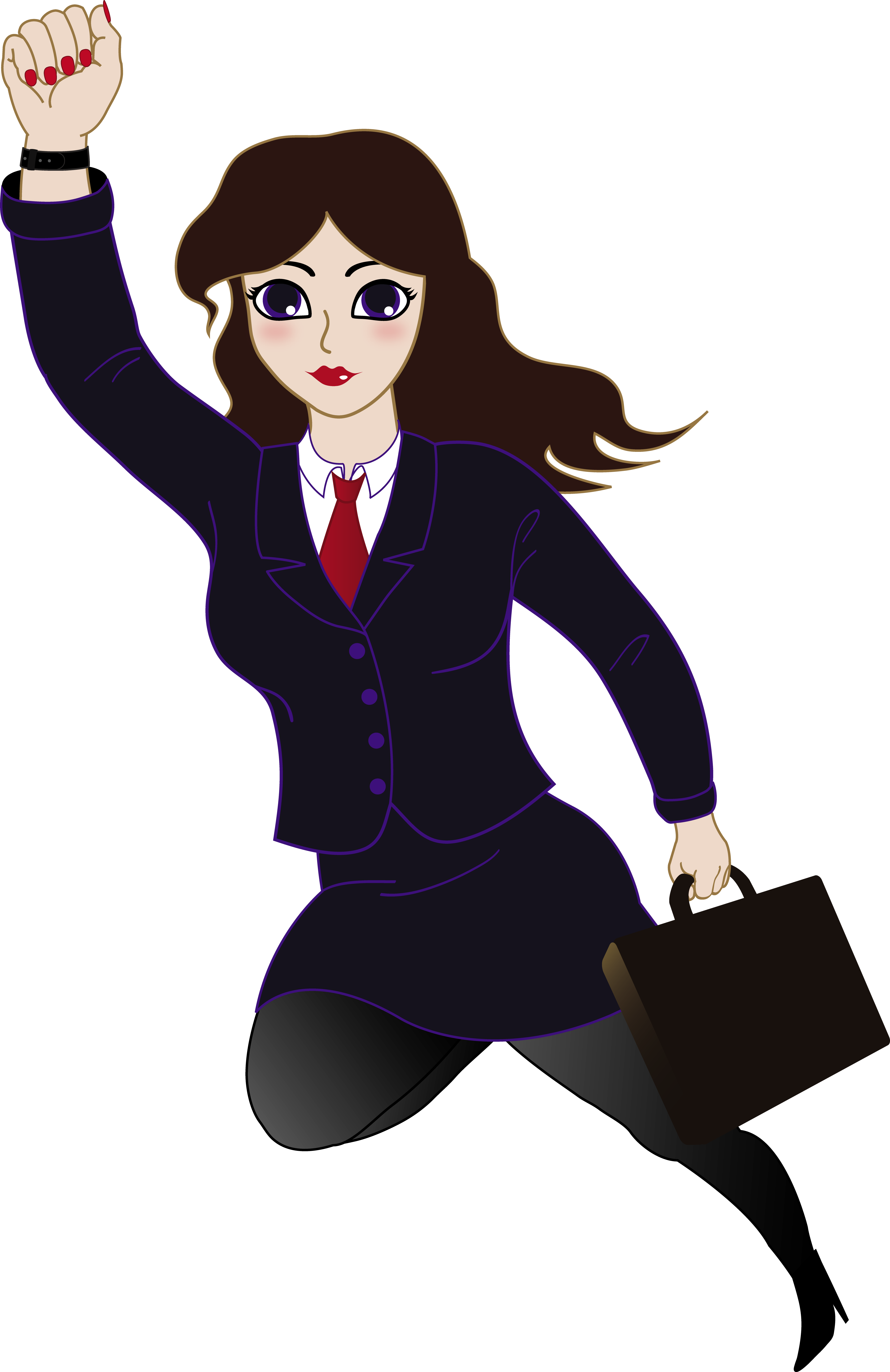 Businesswoman Clipart.