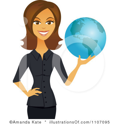Clipart business woman.