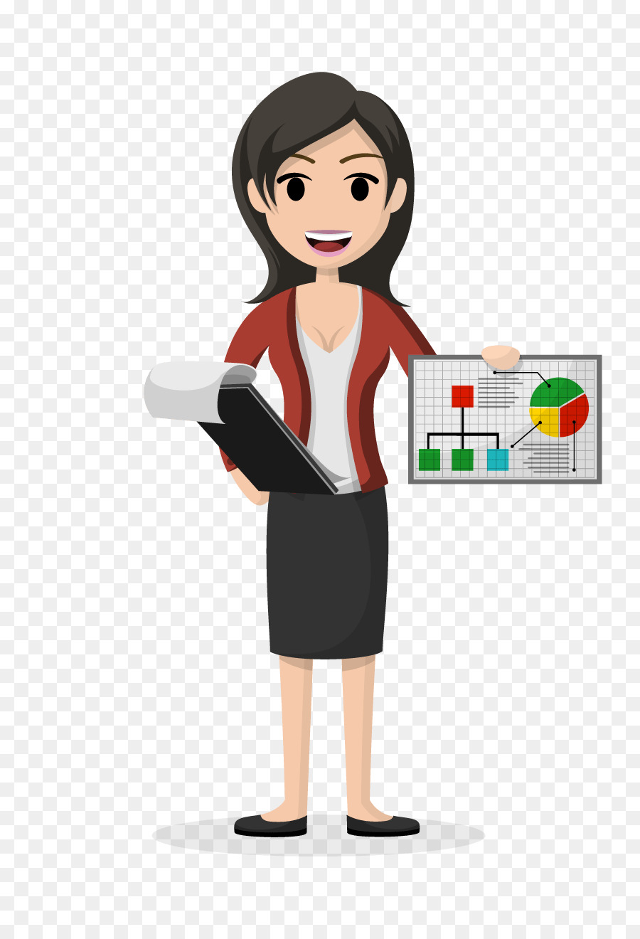 Business Woman clipart.