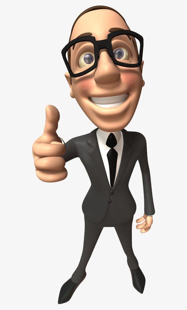 Cartoon Business Man PNG, Clipart, Business Clipart.