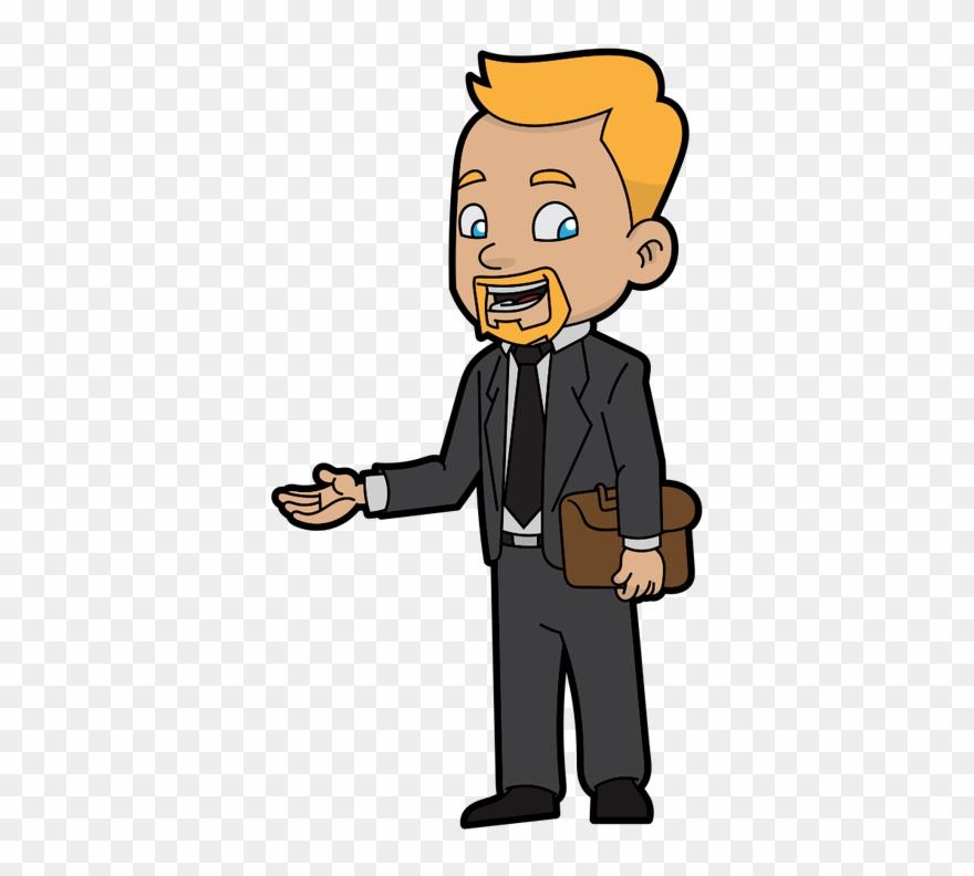 Businessman Clipart Standing.