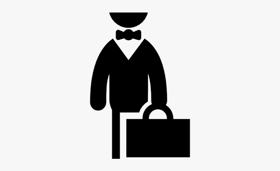 Businessman Clipart Black And White, Cliparts & Cartoons.