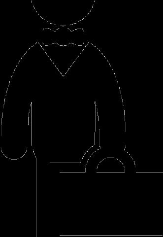 Businessman Clipart Black And White , Transparent Cartoon.