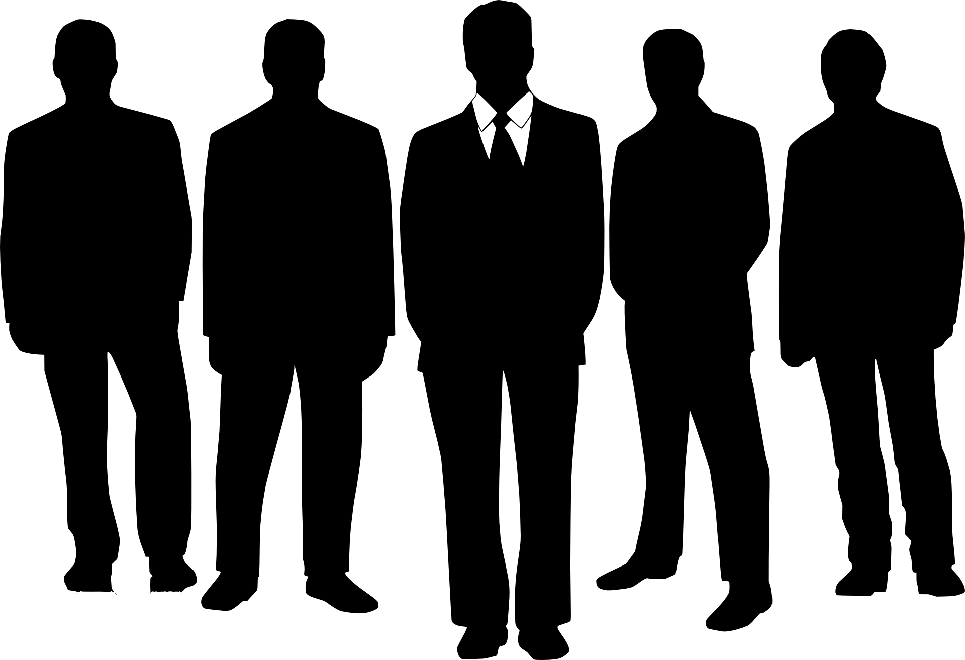 Free Businessman Silhouette Png, Download Free Clip Art.