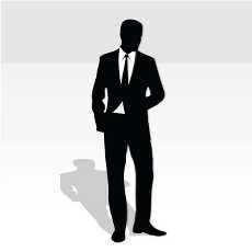businessman silhouette clip art free vectors.