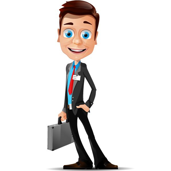 Today we present our latest free businessman vector.