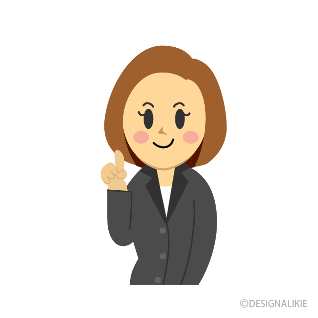 Explain Businesswoman Clipart Free Picture|Illustoon.