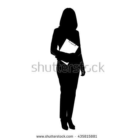 Full Length Portrait Woman Stock Vectors, Images & Vector Art.