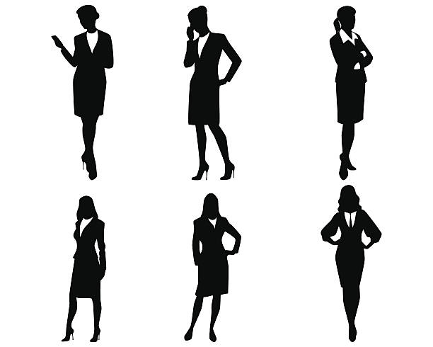 Business Woman Clip Art, Vector Images & Illustrations.
