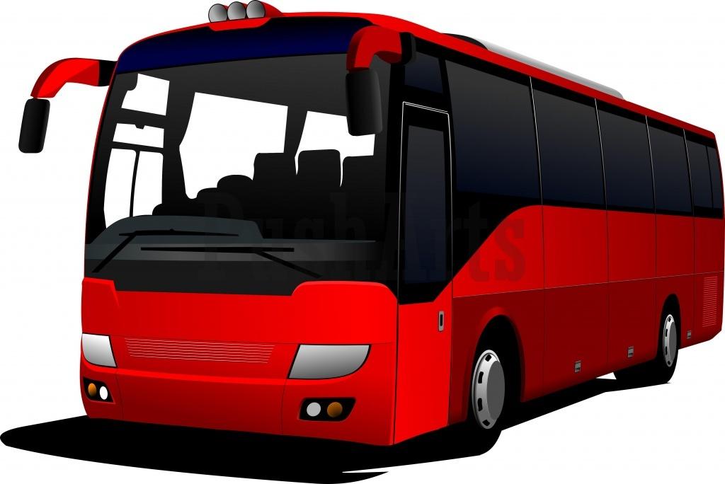 Coach bus clipart.
