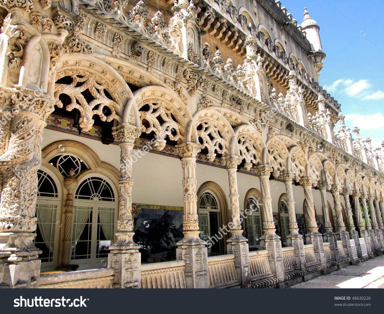 Bussaco Palace Stock Photo 48630226.