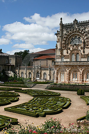 Bussaco Palace, Portugal Stock Photo.