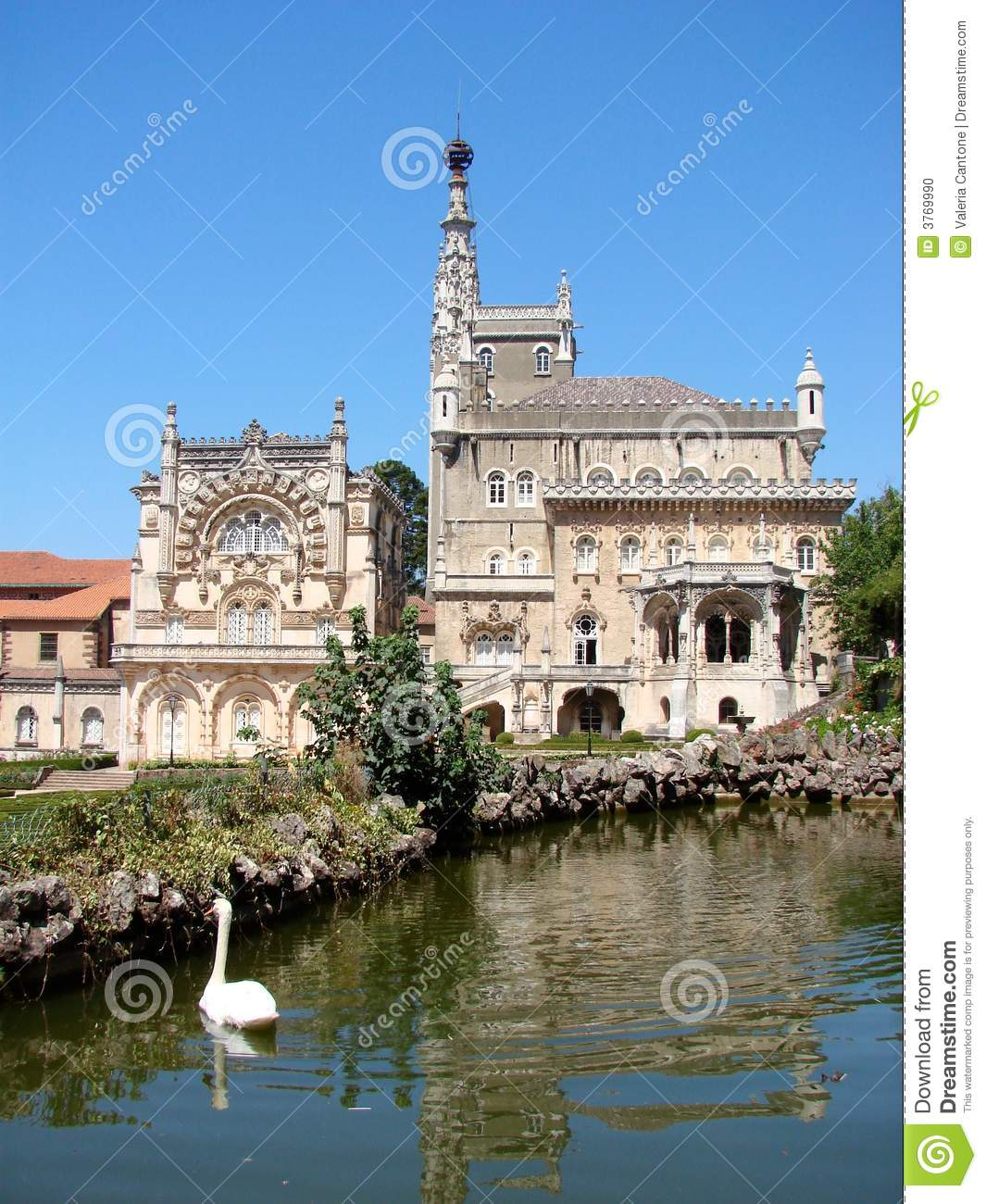 The Bussaco Palace, Portugal Stock Photo.