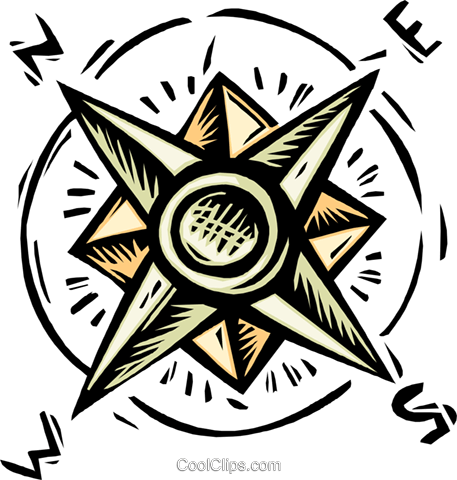 Download Compass Royalty Free Vector Clip Art Illustration.