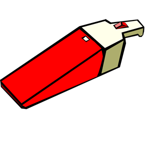 Red Dust Buster Vacuum clipart, cliparts of Red Dust Buster Vacuum.