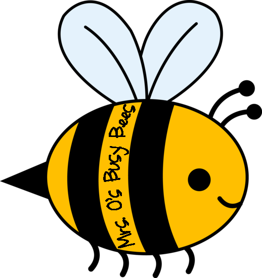 Busy as a bee clipart.