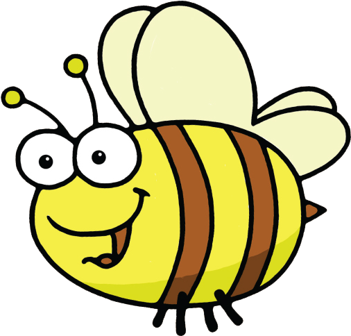 Svg Black And White Busy Bees Clipart.