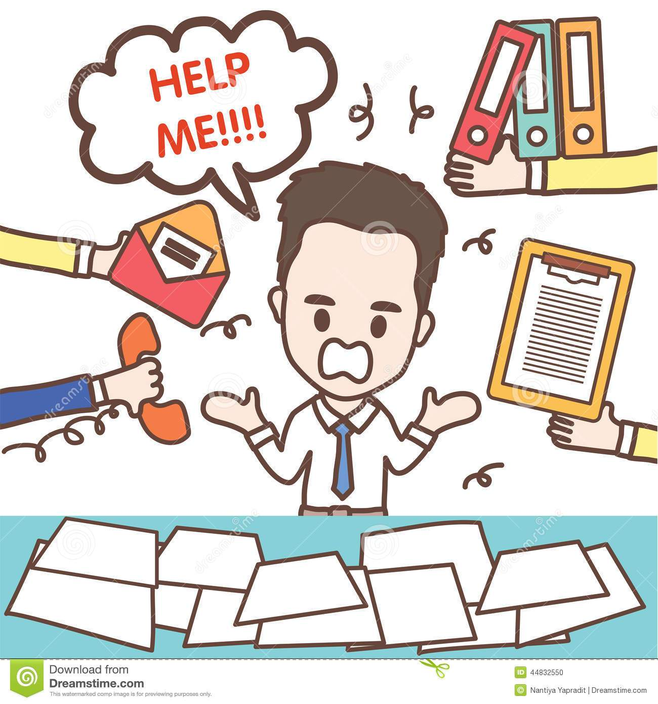 Busy office worker clipart 5 » Clipart Portal.