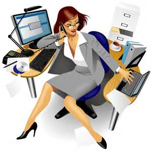 Busy workers clipart #17